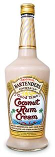 Original Bartenders Cocktails Good Time Coconut Rum Cream...